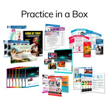 Schubel Chiropractic Patient Education Practice in a Box