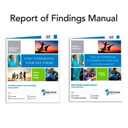 Schubel Chiropractic Patient Education Report of Findings Package